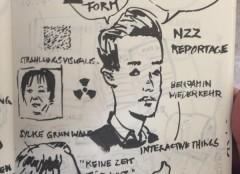 Illustration von Roland Hausherr (Hochschule Luzern) zum Referat von Wiederkehr und Gruhnwald