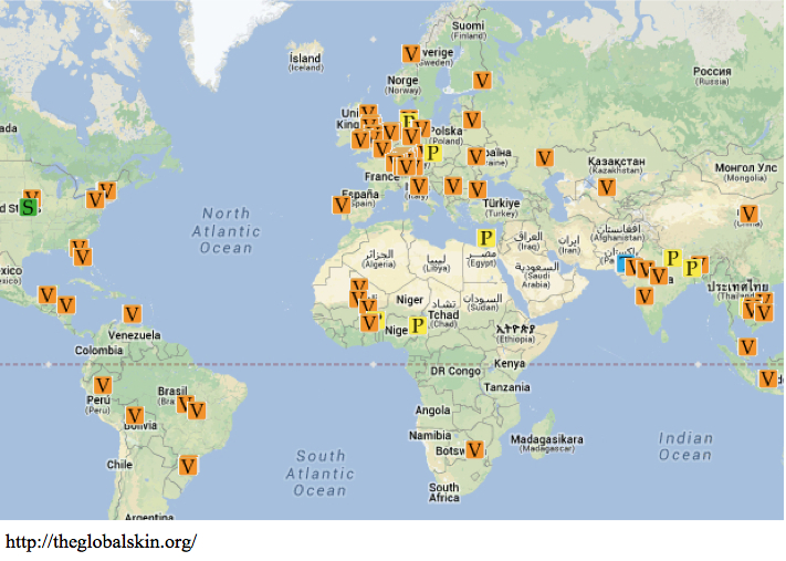 the global skin